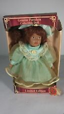 (#262)  GENUINE PORCELAIN COLLECTIBLE DOLL     LIMITED EDITION     GREENBRIER