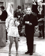 Laugh In Sally Field Leggy Henry Gibson 8x10 photo T0714