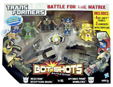 TRANSFORMERS - BOT SHOTS - BATTLE FOR THE MATRIX GAME 100% Brand New