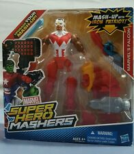 MARVEL SUPER HERO MASHERS MARVEL'S FALCON MASH-UP WITH IRON PATRIOT NEW AGES 4+
