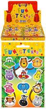 120 Packs de Animaux De La Jungle Autocollants dans Gros Affichage Boîte