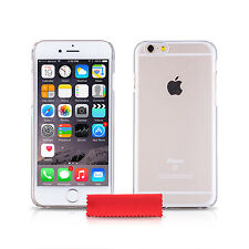 iDefend Case For Apple iPhone 6S Clear Hard Plastic Case Cover + Protector