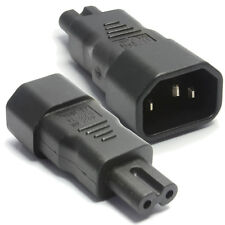 Iec socket C14 à figure de huit C7 plug power adaptateur
