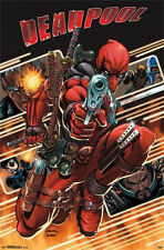 DEADPOOL - ATTACK COMIC POSTER - 22x34 MARVEL COMICS 13561