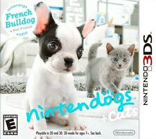 Nintendogs + Cats: French Bulldog & New Friends - Nintendo 3DS Game Only
