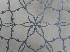Harlequin Curtain/Upholstery Fabric 'Pasha' 2 METRES Chestnut/Charcoal Velvet