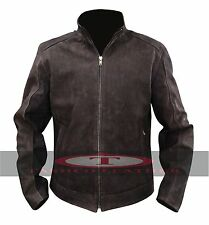 Matt Damon Jason Bourne Real Leather Jacket High Quality