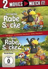 DER KLEINE RABE SOCKE/DER KLEINE RABE SOCKE 2  2 DVD NEU