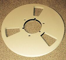 "1/4 "" reel to reel spool Aluminium metal audio spool 10.5"" spool"