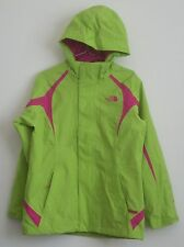 The North Face Jacket Coat Green/Pink Girls Large 14/16