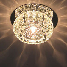 Modern New Crystal LED Ceiling Light Fixture Pendant Lamp Lighting Chandelier