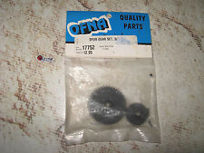 Vintage RC OFNA Black Nylon Spur Gear Set 38 & 42 Tooth 17752