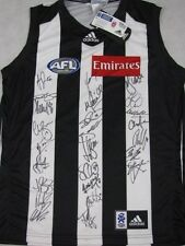 2010 COLLINGWOOD Magpies 'Premiership' Jersey Hand Signed x 25