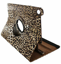 Leopard 360 Rotating Leather Case Cover Stand Skin for Samsung Galaxy Tab 2 7""
