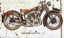 Matchless SilverHawk 1931 Aged Vintage Photo Print A4 Retro poster