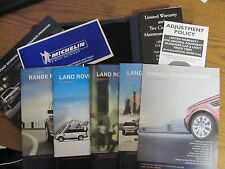 2005-2009 Range Rover Sport Owners Handbook Complete With Leather case NICE