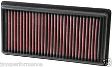 KN AIR FILTER (33-3006) FOR CITROEN C-ELYSEE 1.2 2013 - 2016