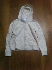 ADIDAS OBYO DAVID BECKHAM HOODED CARDIGAN OATMEAL