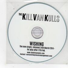 (FS980) The Kill Van Kulls, Wishing - 2014 DJ CD