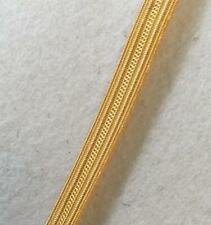 Gold Naval Lace Cello 8mm Navy Uniform Army Military Braid no-805
