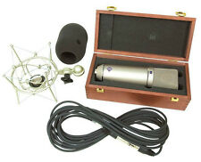 Neumann U87 Ai SETZ - Mic w Shock Mount (Nickel) Windscreen and Cable Set Z USED