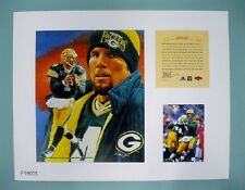 Brett Favre Green Bay Packers NFL 11x14  Numbered Print  Future Hall of Fame