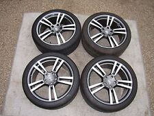 "PORSCHE CAYENNE OEM ORIGINAL FACTORY 21"" TURBO II WHEELS/TIRES/TPMS & CAPS SET"