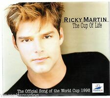 RICKY MARTIN - THE CUP OF LIFE (5 track CD single)