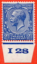 """SG. N37 (UNLISTED). 2½d violet blue. A very fine UNMOUNTED MINT control """" I28 """""""