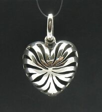 STERLING SILVER PENDANT HEART VALENTINE PERFECT QUALITY PE000366 SOLID EMPRESS