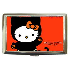 Hello Kitty Cigarette Metal Case 100's or Use Keep Money Card Wallet HOT