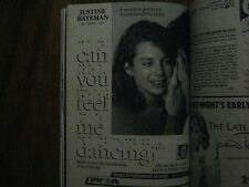 1986 TV Guide (JUSTINE  BATEMAN/GARRY  SHANDLING/L A LAW/BRAD MAULE/NOELLE BECK)