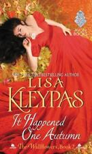 It Happened One Autumn: The Wallflowers, Book 2 Kleypas, Lisa Mass Market Paper