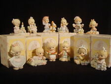 t Precious Moments-RARE-Complete 12 Days Of Christmas Set-Beautiful