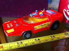 Matchbox Speed Kings K - 32/40 Shoval Nose 1971 Lesney Fire Chief Rare Car