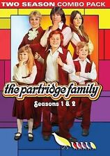 The Partridge Family: Seasons 1 & 2 (DVD, 2014, 4-Disc Set) DAMAGED CASE