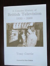 'Concise History of British Television 1930-2000', TONY CURRY VERY RARE BOOK