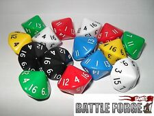 D16 DICE SIXTEEN SIDED D&D AD&D ROLEPLAY NEW CHEAP
