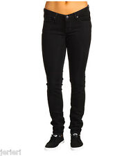 NEW $78 Quicksilver Womens Black Lorne Low Rise Skinny Jeans 26 27 x 33 NWT