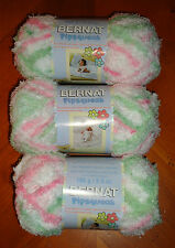 Bernat Pipsqueak Yarn Lot Of 3 Skeins (Candy Girl #59415)