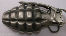 Grenade With Pin Dragon Collection Vintage Belt Buckle ai100