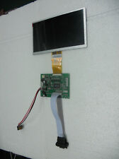 "7"" inch LCD monitor with VGA input 800x480 16:9 DIY kit no frame Raspberry Pi"