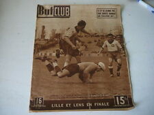 But et Club 19.04.1948 football Lille-Nancy Baratte