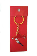 CROATIA COUNTRY SHAPE FLAG METAL KEYCHAIN .. NEW
