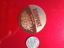 RAMPANT Ft. Collins NEW BELGIUM BREWERY BEER STICKER Colorado Brew Brewing Decal