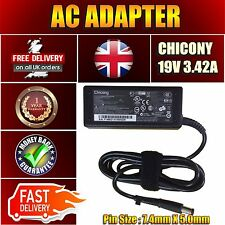 19V 3.42A LAPTOP CHARGER AC WALL ADAPTER FOR HP G60 G61 G62 G72 CQ60 DV4 UK