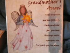 Grandmother's Angel - Ceramic Tile - Family Christian Stores - Hang or Stand