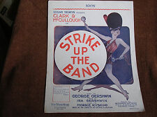 """Soon""/George & Ira Gershwin/From ""Strike Up the Band""/1929 Sheet Music"