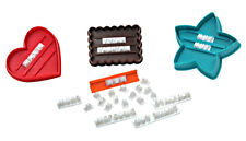 Dexam Message in Cookie Cutter Set Biscuit Stamp 'Happy Birthday' 17848719