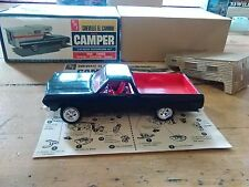 AMT 1965 65 Chevy Chevelle El Camino Drag Custom Camper Model Kit assembled